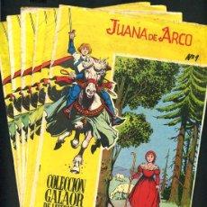 Tebeos: JUANA DE ARCO, COLECCION GALAOR , COMPLETA , 6 NUMEROS , COLECCION COMPLETA. Lote 26370836