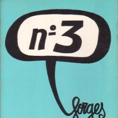 Tebeos: FORGES - LOTE CON 4 TOMOS - EDICIONES SEDMAY - AÑOS 70. Lote 10144684