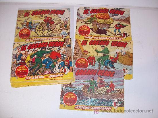 Tebeos: Lote 35 tebeos -EL Cosaco Verde- originales - Foto 2 - 18749642