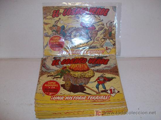 LOTE 35 TEBEOS -EL COSACO VERDE- ORIGINALES (Tebeos y Comics - Tebeos Colecciones y Lotes Avanzados)