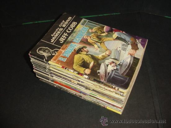 AGENTE 007. JAMES BOND (FERMA) (Tebeos y Comics - Tebeos Colecciones y Lotes Avanzados)