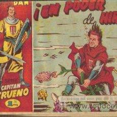 Tebeos: EL CAPITAN TRUENO (BRUGUERA) ORIGINALES 1956-1968 LOTE DE TOMOS ENCUADERNADOS. Lote 26450885