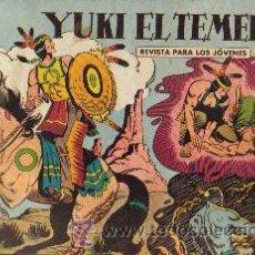 Tebeos: YUKI EL TEMERARIO (VALENCIANA) ORIGINALES TOMOS ENCUADERNADOS COMPLETOS. Lote 26481086