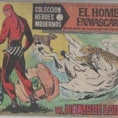Tebeos: HEROES MODERNOS SERIE A EL HOMBRE ENMASCARADO COMPLETA--TRES . Lote 11777514