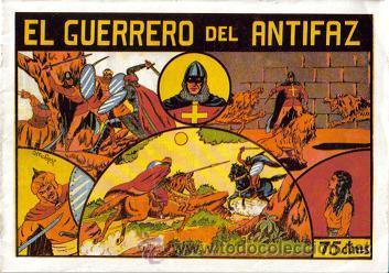 EL GUERRERO DEL ANTIFAZ ( COMIC-MAN ) AÑO 1980 ? LOTE (Tebeos y Comics - Tebeos Colecciones y Lotes Avanzados)