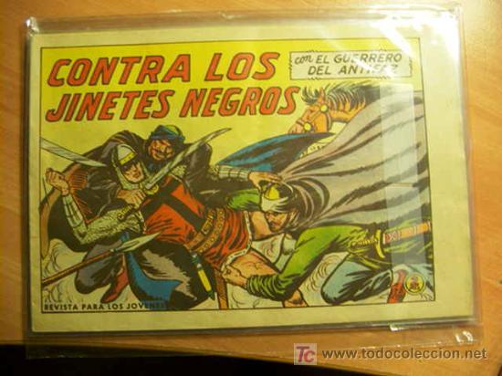 Tebeos: LOTE COLECCION COMPLETA EL GUERRERO DEL ANTIFAZ ( ORIGINAL ) - Foto 7 - 27322639