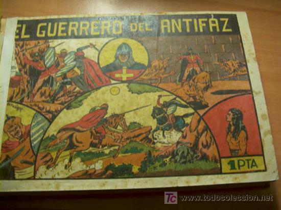 Tebeos: LOTE COLECCION COMPLETA EL GUERRERO DEL ANTIFAZ ( ORIGINAL ) - Foto 6 - 27322639