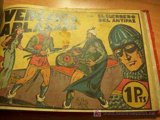 Tebeos: LOTE COLECCION COMPLETA EL GUERRERO DEL ANTIFAZ ( ORIGINAL ) - Foto 8 - 27322639