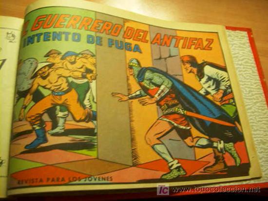 Tebeos: LOTE COLECCION COMPLETA EL GUERRERO DEL ANTIFAZ ( ORIGINAL ) - Foto 10 - 27322639