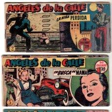 Tebeos: ANGELES DE LA CALLE ORIGINAL , 1951, NºS - 2,3,5,6,7,8,9,11,14,15,17,20, VER IMAGENES. Lote 23466355