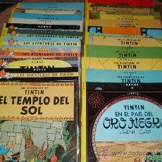 Tebeos: LAS AVENTURAS DE TINTIN(23 NºS EN TAPA BLANDA). Lote 24926497