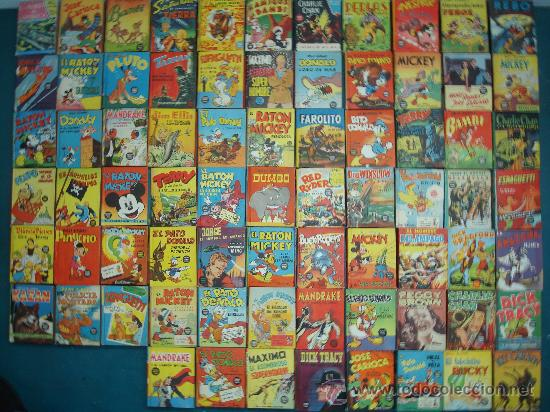PEQUEÑOS GRANDES LIBROS--COLECCION-1945 - BIG LITTLE BOOK (Tebeos y Comics - Tebeos Colecciones y Lotes Avanzados)