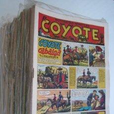 Tebeos: EL COYOTE, CLIPER 1947. COLECCIÓN ORIGINAL, CASI COMPLETA (FALTAN 19 NÚMEROS). Lote 13824769