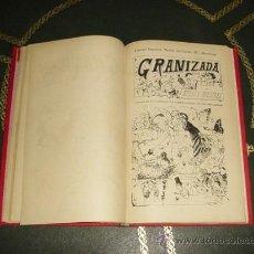 Tebeos: GRANIZADA (LOPEZ - 1880). ¡¡ EL PRIMER TEBEO ESPAÑOL !!. . Lote 23645555