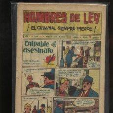 Tebeos: HOMBRES DE LEY. Lote 23225028