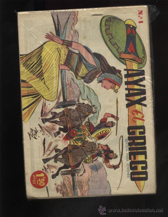 AYAX EL GRIEGO (Tebeos y Comics - Tebeos Colecciones y Lotes Avanzados)