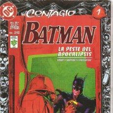 Tebeos: BATMAN CONTAGIO 11 NUMEROS COMPLETA EDITORIAL VID MEXICO. Lote 25625964