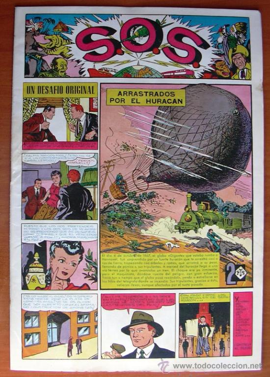 Tebeos: S.O.S. - SOS - Editorial Valenciana 1951 - Completa 68 tebeos nuevos sin abrir - Foto 2 - 27013385
