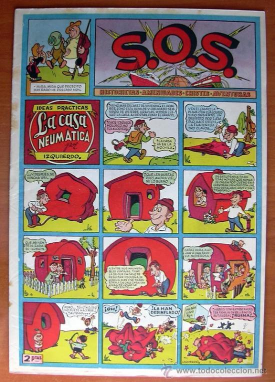 Tebeos: S.O.S. - SOS - Editorial Valenciana 1951 - Completa 68 tebeos nuevos sin abrir - Foto 4 - 27013385