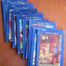 Tebeos: CAPRICHO INFANTIL (CUENTOS) - EDITORIAL VALENCIANA 1942 - COMPLETA 16 CUENTOS. Lote 27275000