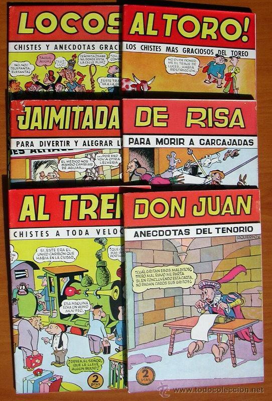 COLECCIÓN CASCABEL - EDITORIAL VALENCIANA 1950 - COLECCIÓN COMPLETA, 6 CUADERNOS (Tebeos y Comics - Tebeos Colecciones y Lotes Avanzados)