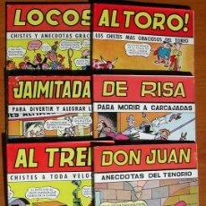 Tebeos: COLECCIÓN CASCABEL - EDITORIAL VALENCIANA 1950 - COLECCIÓN COMPLETA, 6 CUADERNOS. Lote 27391367
