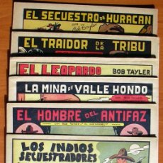 Tebeos: BOB TAYLER EL JUSTICIERO - EDITORIAL VALENCIANA 1945 - COLECCIÓN COMPLETA, 6 TEBEOS. Lote 27013388