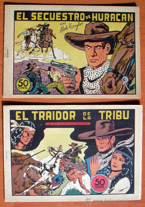 Tebeos: Bob Tayler el justiciero - Editorial Valenciana 1945 - Colección Completa, 6 tebeos - Foto 4 - 27013388