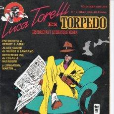 Tebeos: TORPEDO DE MAKOKI COMPLETA CUATRO NUMEROS . Lote 26262469