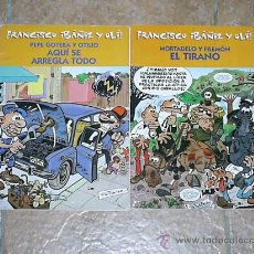 Tebeos: LOTE DE 2 COMICS DE MORTADELO Y FILEMON (FRANCISCO IBAÑEZ Y OLE). Lote 27262439