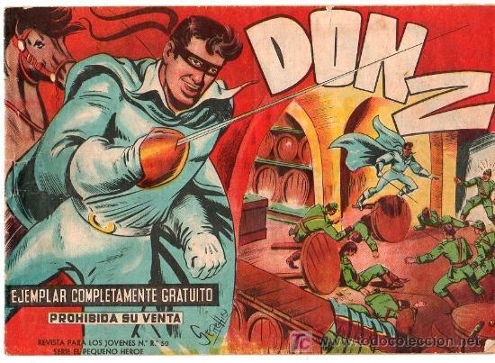 DON Z. EDITORIAL MAGA 1959. COLECCION COMPLETA. 90 EJEMPLARES. (Tebeos y Comics - Tebeos Colecciones y Lotes Avanzados)