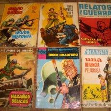 Tebeos: LOTE 7 NºS 1: HOMBRE ENMASCARADO, JAMES BOND, BRICK BRADFORD, HAZAÑAS BÉLICAS, COMBATE EXTRA.... Lote 17308675