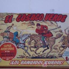 Tebeos: COSACO VERDE ... Nº 1 AL 50 ENCUADERNADO EN UN TOMO ROJO ORIGINAL. Lote 26310346