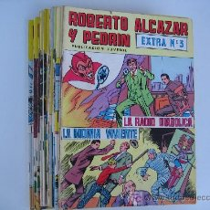 Tebeos: ROBERTO ALCÁZAR Y PEDRÍN EXTRA LOTE DE 13 NºS.. Lote 18556604