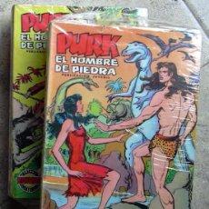 Tebeos: PURK, EL HOMBRE DE PIEDRA - EDITORIAL VALENCIANA 1974 - COMPLETA, 114 EJEMPLARES. Lote 26399982