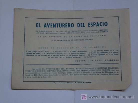 Tebeos: AVENTURERO DEL ESPACIO ... LOTE DE 6 CUADERNILLOS ORIGINAL IMPECABLES - Foto 2 - 26470403