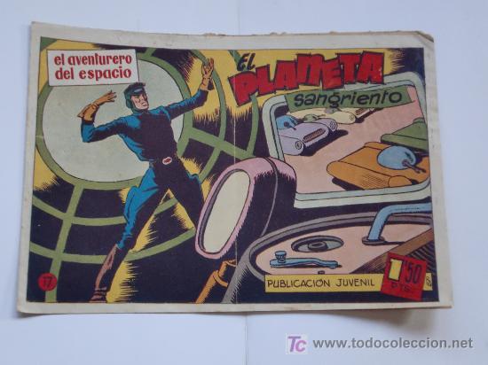 Tebeos: AVENTURERO DEL ESPACIO ... LOTE DE 6 CUADERNILLOS ORIGINAL IMPECABLES - Foto 3 - 26470403