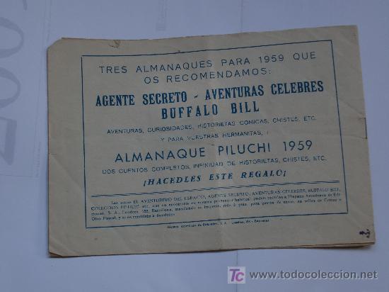 Tebeos: AVENTURERO DEL ESPACIO ... LOTE DE 6 CUADERNILLOS ORIGINAL IMPECABLES - Foto 10 - 26470403