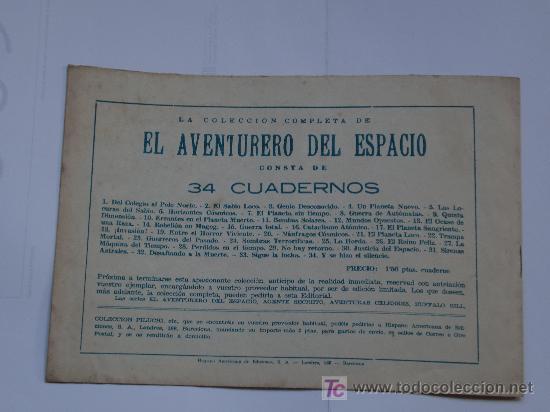 Tebeos: AVENTURERO DEL ESPACIO ... LOTE DE 6 CUADERNILLOS ORIGINAL IMPECABLES - Foto 12 - 26470403