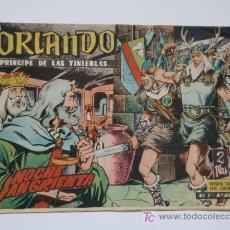 Tebeos: ORLANDO Nº 1 AL Nº 24 , ORIGINAL ,24 CUADERNILLOS. Lote 26442014