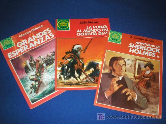 LOTE JOYAS LITERARIAS JUVENILES 17,150,268 - BRUGUERA (Tebeos y Comics - Tebeos Colecciones y Lotes Avanzados)