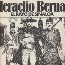 Tebeos: HERACLIO BERNAL. EL RAYO DE SINALOA. COMPLETA 7 EJEMPLARES.. Lote 20342794