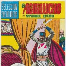 Tebeos: EL AGUILUCHO. MAGA 1981. LOTE DE 38 EJEMPLARES. COLECCIÓN A FALTA DEL: 22, 40, 41, 42. Lote 20621351