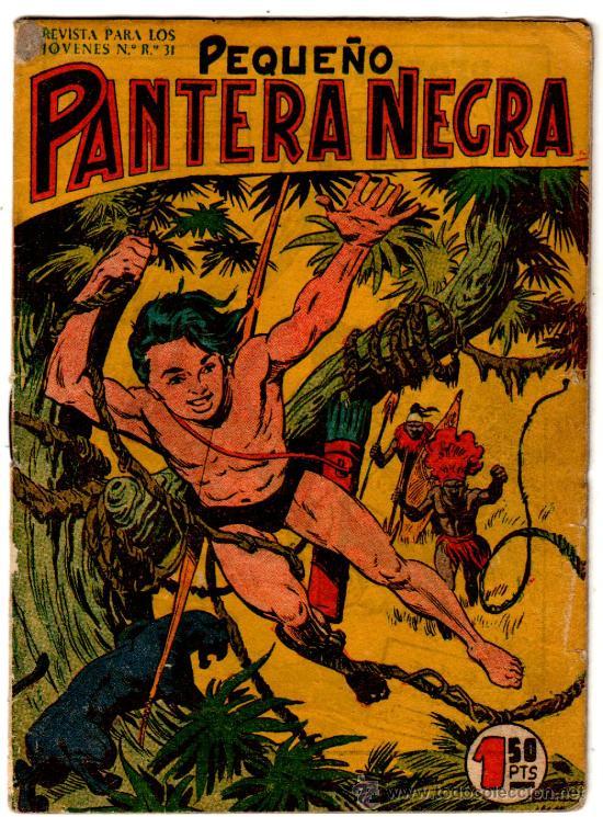 PEQUEÑO PANTERA NEGRA ORIGINAL COMPLETA 70 NºS DEL 55 AL 124, EDI. MAGA 1958, VER 34 PORTADAS (Tebeos y Comics - Tebeos Colecciones y Lotes Avanzados)