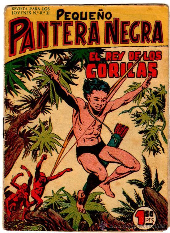 PEQUEÑO PANTERA NEGRA ORIGINAL, LOTE DE 38 NºS VER IMAGENES DE PORTADAS (Tebeos y Comics - Tebeos Colecciones y Lotes Avanzados)