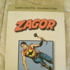 Tebeos: ZAGOR ITALIANO TOMO CON 2 AVENTURAS EN BLANCO Y NEGRO COMPLETAS.. Lote 26660985
