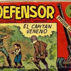 Tebeos: EL DEFENSOR - SERIE: METEORO - 26 EJEMPLARES, COLECCIÓN COMPLETA, ORIGINAL - ED. MAGA 1962. Lote 22708163