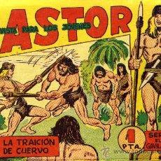 Tebeos: CASTOR - 42 EJEMPLARES, COLECCIÓN COMPLETA, ORIGINAL - ED. MAGA 1962. Lote 22708498