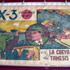 Tebeos: KING EL PEQUEÑO POLICIA - EDITORIAL VALENCIANA 1945 - COMPLETA - 28 EJEMPLARES. Lote 27013382