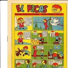 Tebeos: COLECCION COMPLETA EL PECAS AÑO 1958 EDITADO EN ZARAGOZA 23 COMICS . Lote 75301101